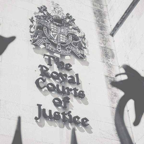 The Royal Courts of Justice, London | Spring Law